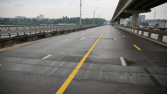 В Воронеже на Северном мосту изменят схему движения транспорта