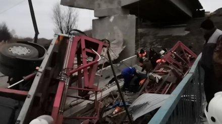 СК увидел вину строителей в обрушении автомобильного моста в Воронежской области