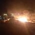 В Воронеже произошёл мощный пожар на складе: появилось видео