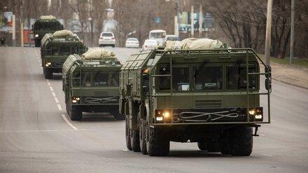 В центре Воронежа пройдёт репетиция парада Победы