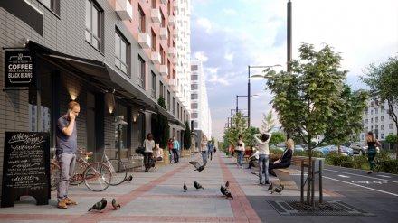 Мэрия Воронежа утвердила реновацию старого квартала на улице Ленинградской
