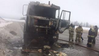 Под Воронежем пожарные предотвратили взрыв цистерны с газом