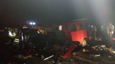 После аварии с 8 погибшими на трассе под Воронежем возбудили уголовное дело