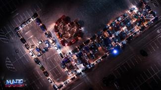 Воронежцев позвали выстроить из машин фигуру ко Дню города