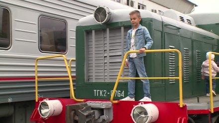Выставка ретротехники на вокзале «Воронеж-1» пополнилась новыми экспонатами