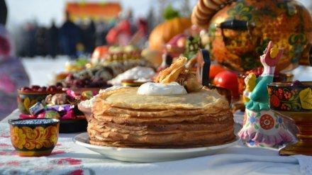Воронежцев бесплатно накормят блинами в Центральном парке
