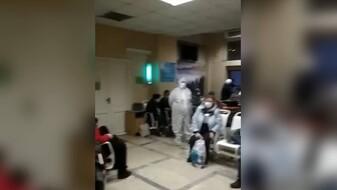 «Людей подключали к кислороду в очереди». Воронежцы показали видео из переполненной БСМП