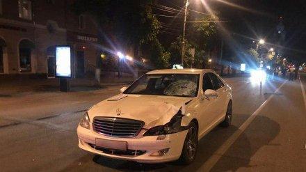 Сбивший насмерть женщину в центре Воронежа пьяный водитель Mercedes попал под следствие