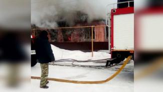 Воронежские власти помогут сельскому мастеру по дереву восстановить сгоревший дом