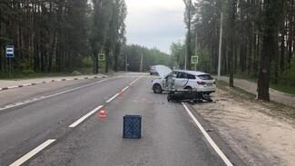 Появились фото смертельной для байкера на Harley аварии в Воронеже