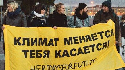Воронеж присоединится к «климатическим забастовкам» по мотивам выступления Греты Тунберг