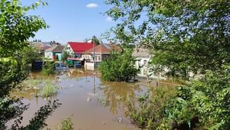 Воронежское МЧС показало фото затопленных домов и участков из-за коммунальной аварии