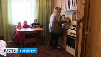 Под Воронежем матери с 3 детьми придётся зимовать в бараке без отопления