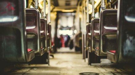 В Воронежской области сгорел пассажирский автобус