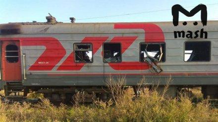 В Воронежской области ночью случился пожар в пассажирском поезде «Томск-Анапа»