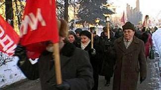 Коммунисты почтили память защитников Воронежа митингом на площади Победы