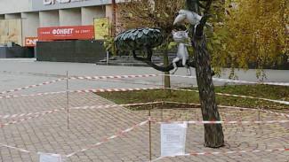 В Воронеже неизвестные отремонтировали памятник Котёнку с улицы Лизюкова