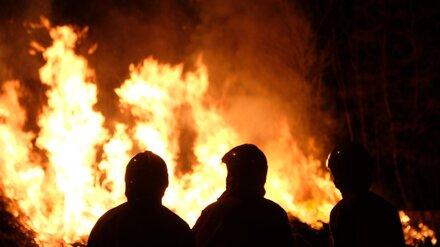 В Воронежской области эвакуировали 15 человек из горящей пятиэтажки