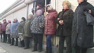 Торговцы с рынка на Димитрова позиции не сдают