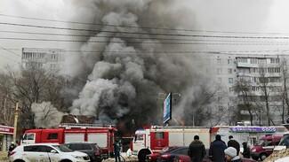 В Воронеже в сгоревшем пивном баре назвали версию пожара