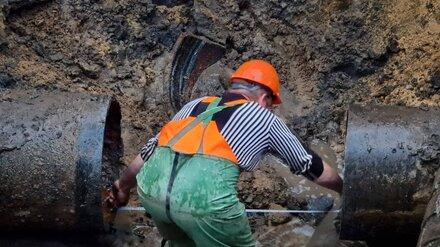 Воронежцам вернули воду после коммунальной аварии на Беговой