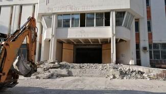 Легендарный «Апекс» в центре Воронежа начали сносить