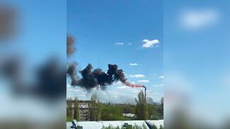 Огонь на воронежском заводе охватил 150 квадратных метров