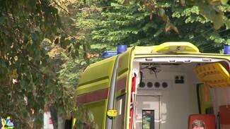 В Воронежской области автомобиль Daewoo врезался в забор: ранена женщина