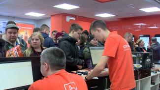 В честь открытия нового магазина «Ситилинк» воронежцы могут купить технику за 1 рубль