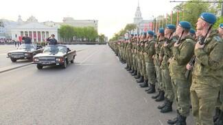 Генеральную репетицию парада Победы увидели тысячи воронежцев