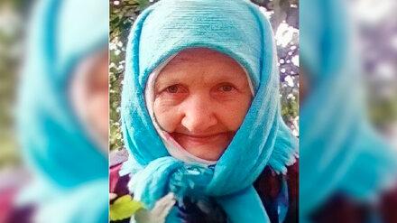 В Воронежской области без вести пропала 93-летняя старушка с провалами в памяти
