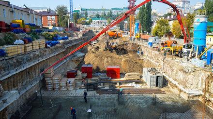 В Воронеже начали монтаж здания хирургического корпуса онкоцентра
