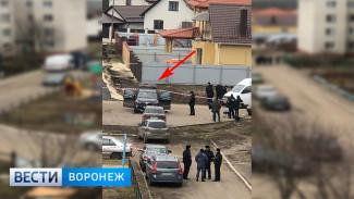 Появились фото и видео с места покушения на главу района под Воронежем