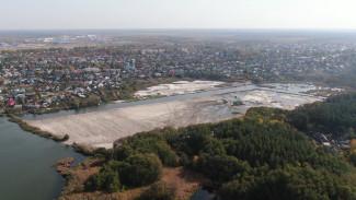 Вместо камышей – белые берега. Как преобразили Масловский затон в Воронеже