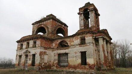 Две старинные разрушающиеся церкви сохранят в Воронежской области