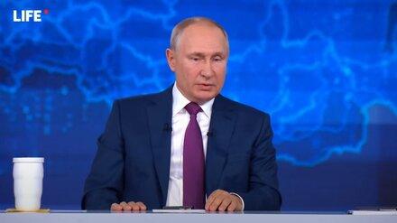 Путин высказался об общероссийском локдауне из-за третьей волны ковида