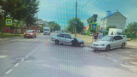 В Воронеже два водителя пострадали в ДТП