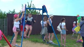 Детская площадка появилась в Масловке после жалоб воронежцев
