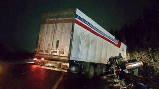 В ДТП с грузовиком в Воронежской области погибли два человека