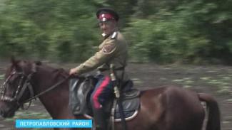 Калачеевские казаки отправились в поход