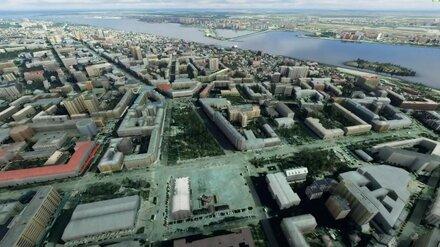 В культовой игре убрали Ленина с главной площади Воронежа