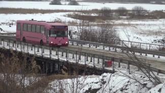 В Воронежской области рухнувший мост заменили на временную переправу