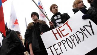 Около 4 тысяч воронежцев поддержали всероссийскую акцию «Вместе против террора»