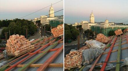 Смертельно опасный ремонт сталинки у «Орлёнка» встревожил воронежцев