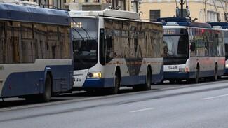 В Воронеже троллейбусный парк пополнят машинами на автономном ходу