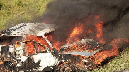 Воронежец угнал автомобиль и сжёг его, чтобы замести следы