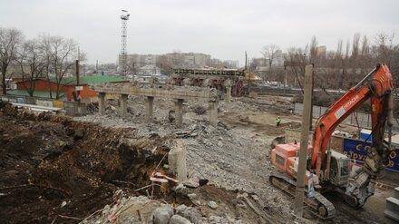 В Воронеже осталось разобрать всего 2 пролёта виадука на 9 Января