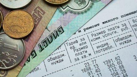 Воронежцы получат в августе обновлённые квитанции за ЖКХ