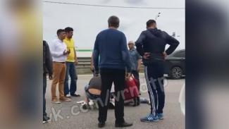 Под Воронежем водитель «Лады» сбил женщину на пешеходном переходе