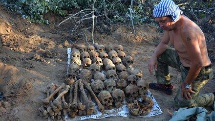 В Воронежской области нашли останки почти 400 убитых женщин, детей и стариков